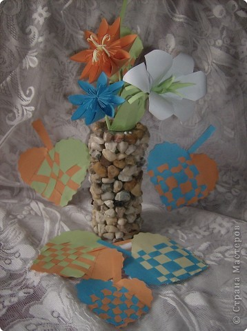 Оригами: Осенний букет