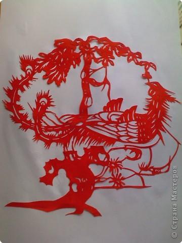 Вырезание: Еще один феникс цзяньчжи