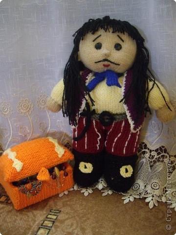 Вязание спицами: Пират фото 2