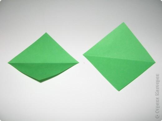 Оригами: И снова РОЗА. МК. фото 12