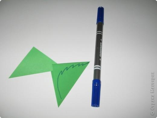 Оригами: И снова РОЗА. МК. фото 14