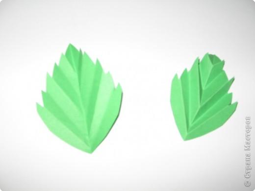 Оригами: И снова РОЗА. МК. фото 18