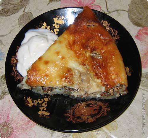 Пирог не только вкусный, но и низкокаллорийный...  фото 1