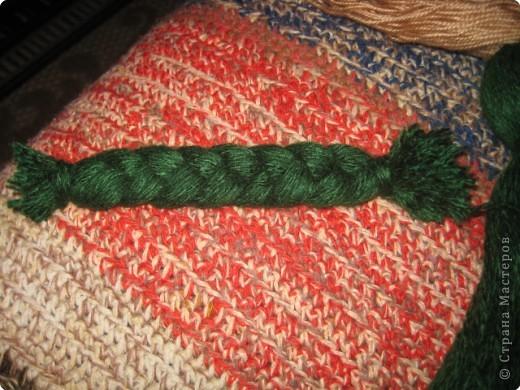Хочу показать как делать куклу из ниток, может кому пригодится.. фото 9