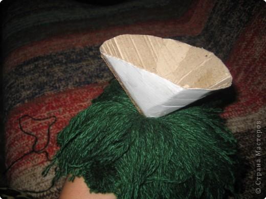Хочу показать как делать куклу из ниток, может кому пригодится.. фото 13
