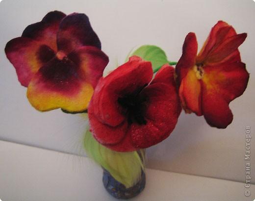 Не определена: Цветы из ватных дисков фото 2