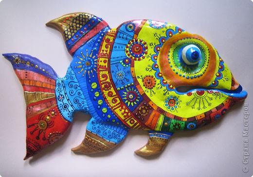 Лепка: Рыбка фото 1