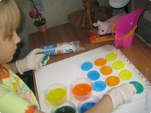 Букетик из розочек сделала дочка. фото 7