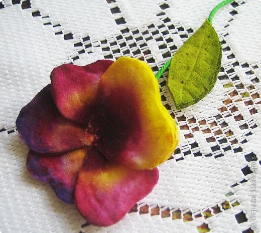 Не определена: Цветы из ватных дисков фото 4