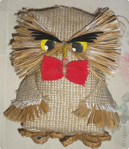 Шитьё: Мудрая сова. фото 1