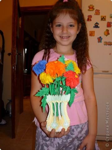 Оригами, Оригами модульное: Подарок для учителя фото 3
