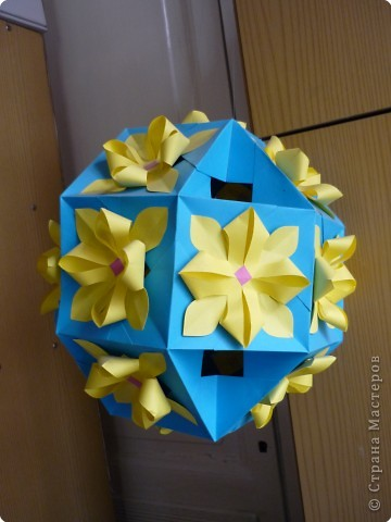 Кусудама: Цветочные шары фото 2