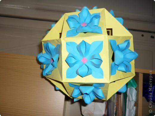 Кусудама: Цветочные шары фото 3