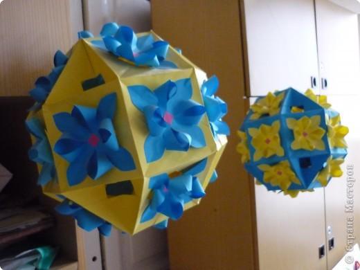 Кусудама: Цветочные шары фото 1