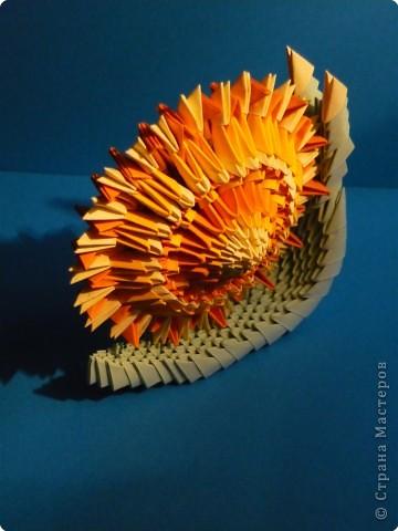 Оригами модульное: Улиточка фото 2