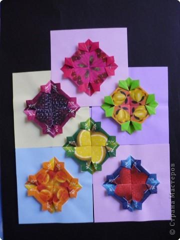 Оригами: Орнаменты из чайных пакетиков фото 1