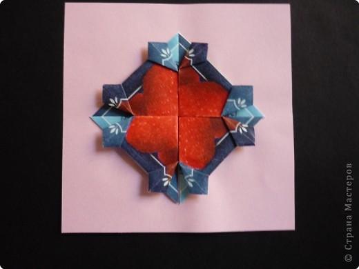 Оригами: Орнаменты из чайных пакетиков фото 4