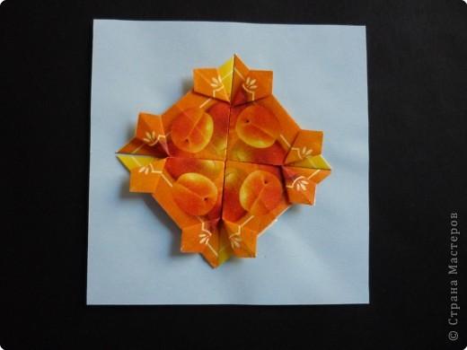 Оригами: Орнаменты из чайных пакетиков фото 3