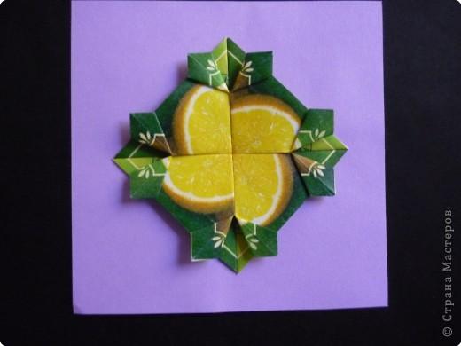 Оригами: Орнаменты из чайных пакетиков фото 2