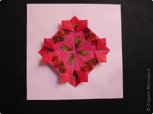 Оригами: Орнаменты из чайных пакетиков фото 7