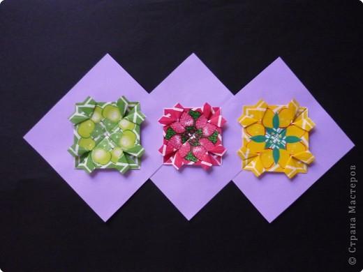 Оригами: Орнаменты из чайных пакетиков фото 9