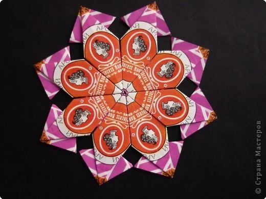 Оригами: Чайный узор 1 фото 1