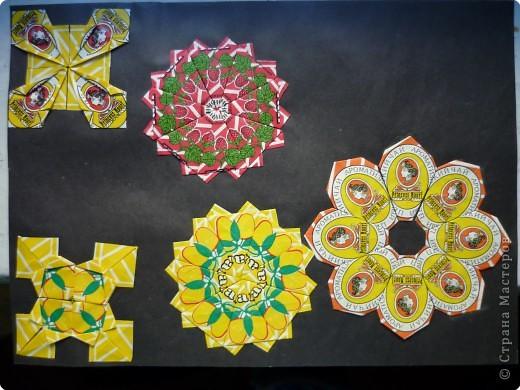 Оригами: Чайные пакетики фото 20