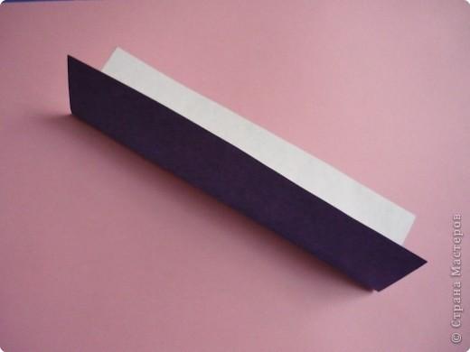 "Оригами: Закладка ""Карандаш"" МК фото 2"