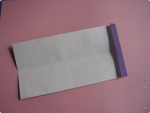 "Оригами: Закладка ""Карандаш"" МК фото 3"