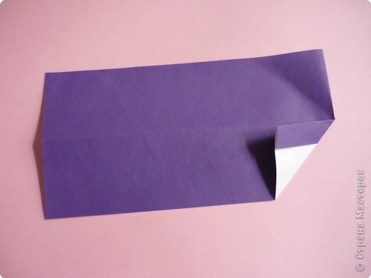 "Оригами: Закладка ""Карандаш"" МК фото 4"