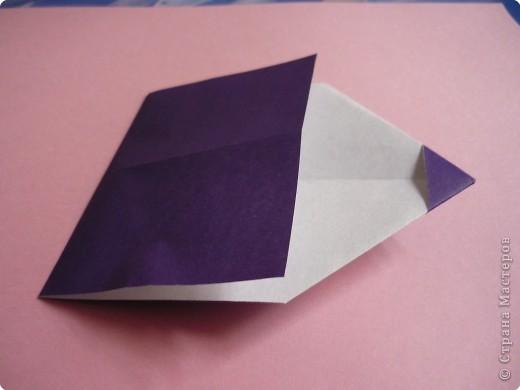 "Оригами: Закладка ""Карандаш"" МК фото 7"