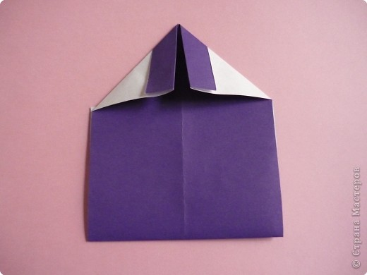 "Оригами: Закладка ""Карандаш"" МК фото 8"