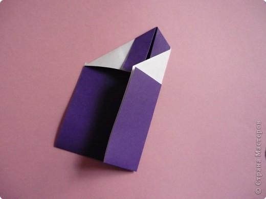 "Оригами: Закладка ""Карандаш"" МК фото 9"