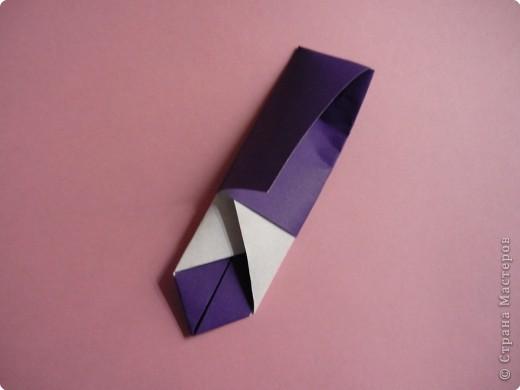 "Оригами: Закладка ""Карандаш"" МК фото 11"