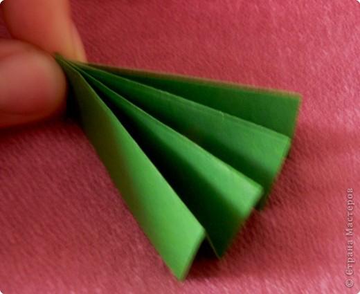 """Вот такие будем делать веточки.  Идея взята из книги С. Соколовой. """"Бумажные орнаменты, звезды, гирлянды."""" фото 8"""