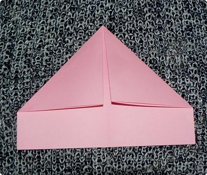 Делюсь самой любимой своей моделью оригами, изящной, легкой в исполнении  и практичной одновременно.  Автор шедевра - Ларри Харт.   фото 5