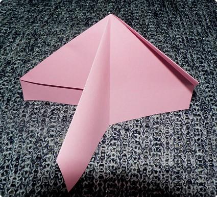 Делюсь самой любимой своей моделью оригами, изящной, легкой в исполнении  и практичной одновременно.  Автор шедевра - Ларри Харт.   фото 6
