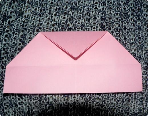 Делюсь самой любимой своей моделью оригами, изящной, легкой в исполнении  и практичной одновременно.  Автор шедевра - Ларри Харт.   фото 9