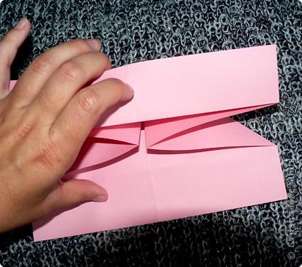 Делюсь самой любимой своей моделью оригами, изящной, легкой в исполнении  и практичной одновременно.  Автор шедевра - Ларри Харт.   фото 10