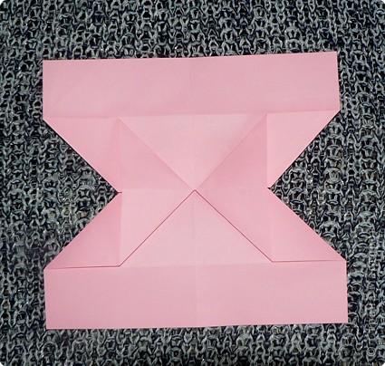 Делюсь самой любимой своей моделью оригами, изящной, легкой в исполнении  и практичной одновременно.  Автор шедевра - Ларри Харт.   фото 11