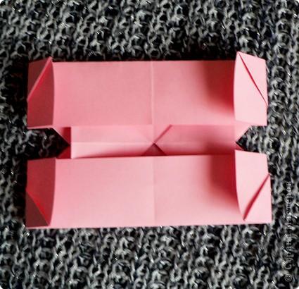 Делюсь самой любимой своей моделью оригами, изящной, легкой в исполнении  и практичной одновременно.  Автор шедевра - Ларри Харт.   фото 16