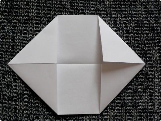 """Держатель для записок. По книге С. Соколовой """"Праздник оригами"""". По просьбе одной из Мастериц ;О) фото 4"""