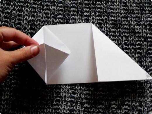 """Держатель для записок. По книге С. Соколовой """"Праздник оригами"""". По просьбе одной из Мастериц ;О) фото 7"""