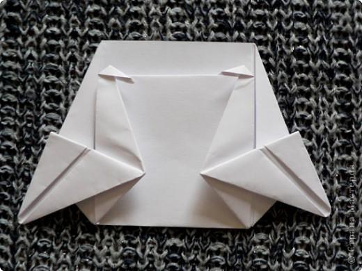 """Держатель для записок. По книге С. Соколовой """"Праздник оригами"""". По просьбе одной из Мастериц ;О) фото 16"""