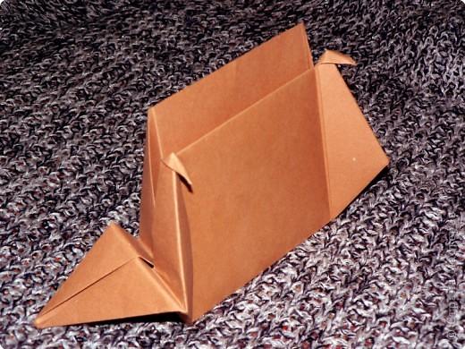 """Держатель для записок. По книге С. Соколовой """"Праздник оригами"""". По просьбе одной из Мастериц ;О) фото 1"""