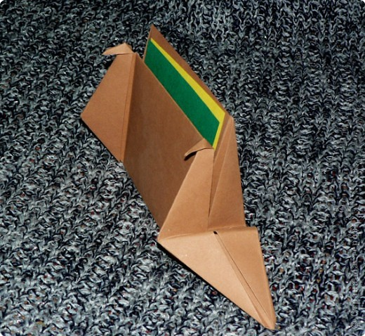 """Держатель для записок. По книге С. Соколовой """"Праздник оригами"""". По просьбе одной из Мастериц ;О) фото 17"""