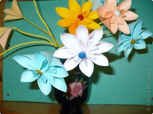 Кусудама: Букет цветов