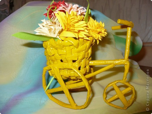 Плетение: За цветами на велосипеде фото 1