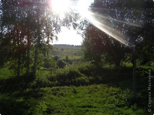 Деревня в кадре только одна. Ельково. Место замечательное. Находится на пике Среднерусской возвышенности. фото 1