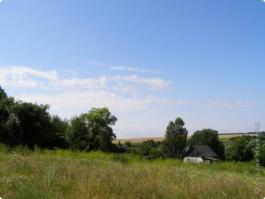 Деревня в кадре только одна. Ельково. Место замечательное. Находится на пике Среднерусской возвышенности. фото 11